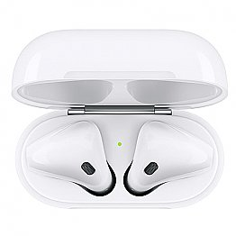 Apple AirPods 2 (2019) with Wireless Charging Case White (MRXJ2ZM/A) EU