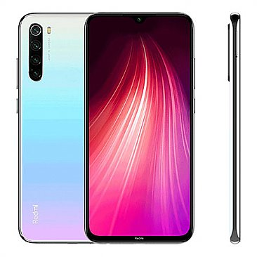 Xiaomi Redmi Note 8 64GB 4GB RAM Dual Sim White EU (Global Version - Ελληνικό Menu)